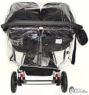 Protector de lluvia Compatible con Mountain Buggy Duet