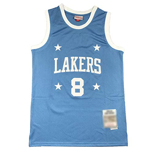 # 8 Lakers Kobe Bryant Basketball Jersey, Uniforme De Baloncesto con Bordados Retro De Cuatro Estrellas De Kobe, Camiseta De Malla Transpirable XL