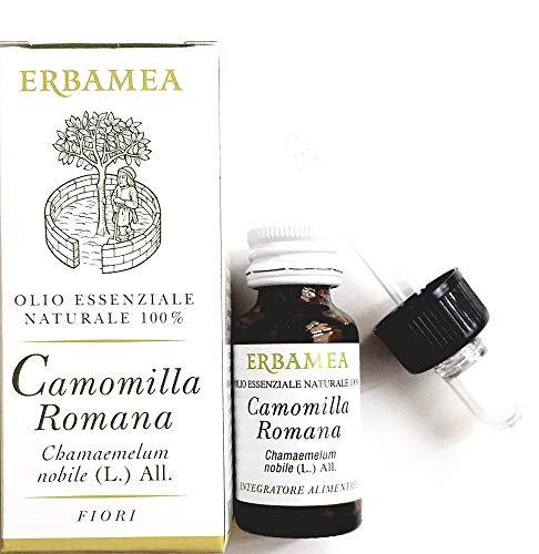 OLIO ESSENZIALE ALIMENTARE CAMOMILLA ROMANA 5 ml.