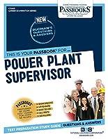 Power Plant Supervisor (Career Examination)