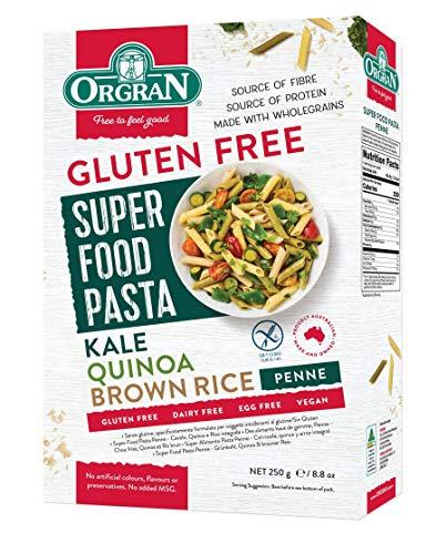 Orgran Super Food - Brown Rice, Quinoa and Kale Penne Pasta