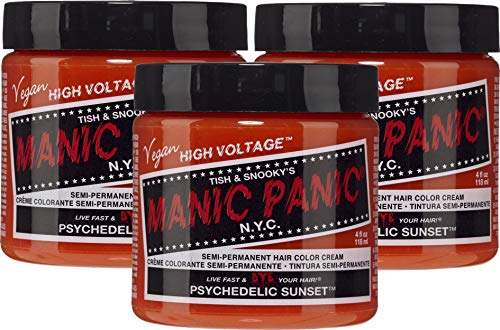 Manic Panic Psychedelic Sunset Hair Dye 3 Pack