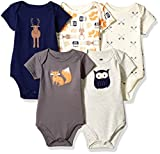 Set includes five bodysuits Made with 100% cotton Soft, gentle and comfortable on baby's skin Optimal for everyday use Affordable, high quality value pack