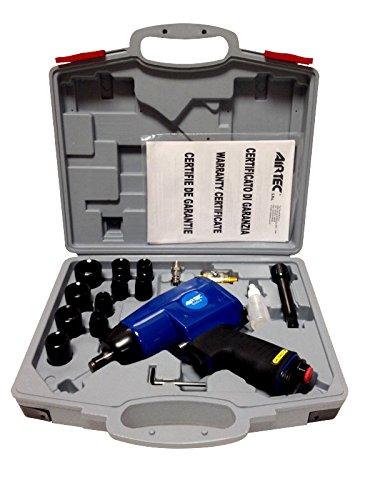 Avvitatore ad Impulsi Pneumatico Airtec 453/K Attacco da 1/2' Completo di Valigia e Accessori