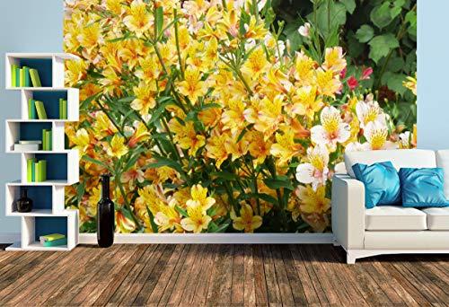 Premium Foto-Tapete Inkalilien (versch. Größen) (Size L | 372 x 248 cm) Design-Tapete, Wand-Tapete, Wand-Dekoration, Photo-Tapete, Markenqualität von ERFURT