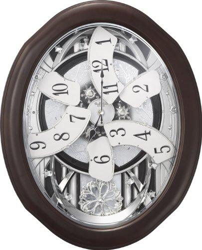 "Rhythm Clocks ""Anthology Espresso"" Magic Motion Clock"