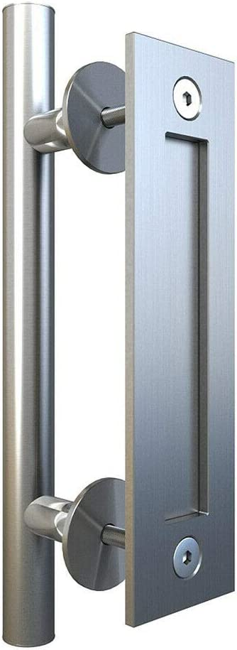 Fashionable JUBEST 11-13 16'' Stainless Steel Barn and Door Flus Handle Charlotte Mall Pull