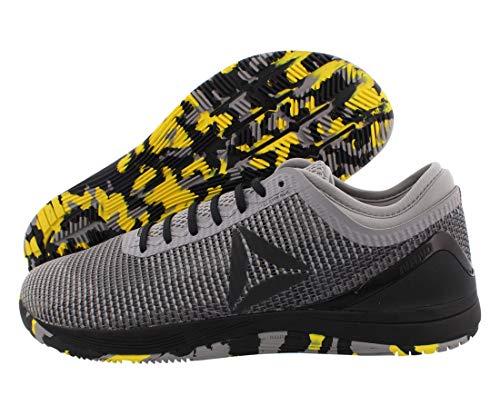 Reebok Herren Crossfit Nano 8.0 Flexweave Sneaker, (Hai/Dose grau/eschgrau/schwarz/gelb.), 38.5 EU