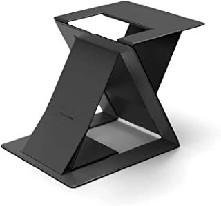 MOFT Invisible Thin Sit-Stand Desk, Portable, Ajustable Sit-Stand Angles, Compatible with Most Laptops, Black