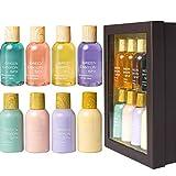 Bad Geschenkset für Frauen Enthält 4 Duftkörperlotion und Duschgel, Beste Weihnachts- und...