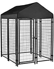 AmazonBasics Welded Outdoor Wire Kennel