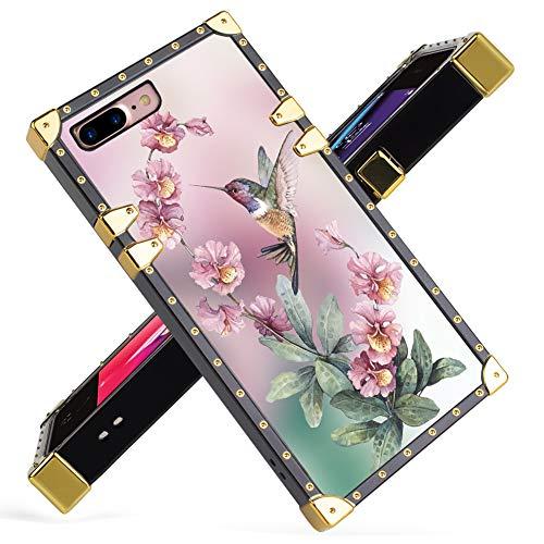 Luxury Case Luxury iPhone 7/8 Plus (78p-Hummingbird)