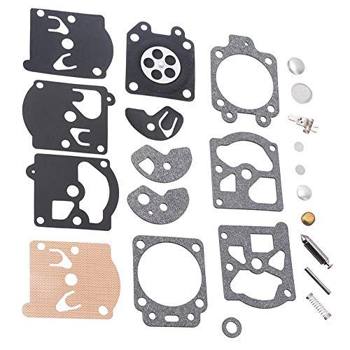 K10 / K20-WAT WA/WT Walbro Carb Carburatore Diaframma Guarnizione Kit di riparazione dell'ago Kit di riparazione