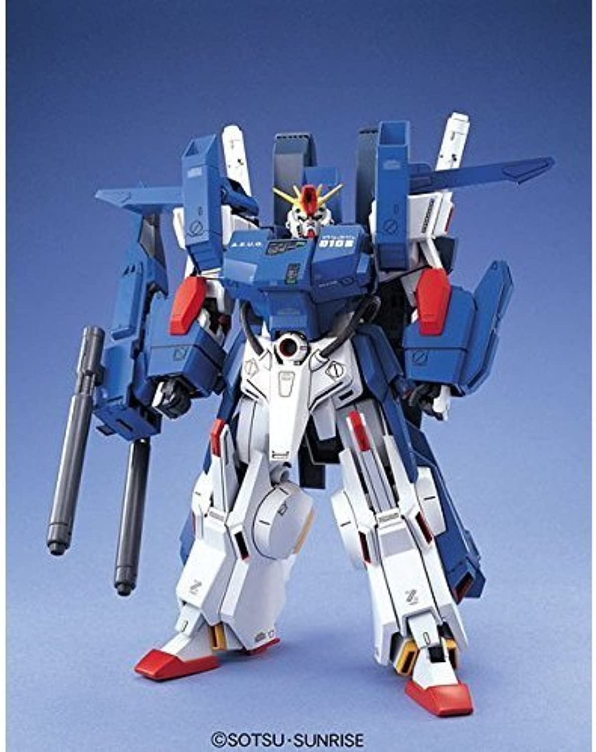 Gundam FA-010S Full Armor ZZ Gundam MG 1 100 Scale (japan import)