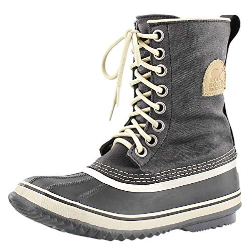 Price comparison product image Sorel Women's 1964 Premium CVS WMNS-W Snow Boot,  Black / Fossil,  8.5 M US