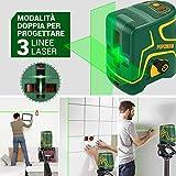 Zoom IMG-1 livella laser verde 45m usb