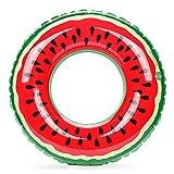 YUNSW Inflable Sandía Fruta Natación Anillo Axila Salvavidas Junto al mar Piscina Flotador Adultos Niños Universal