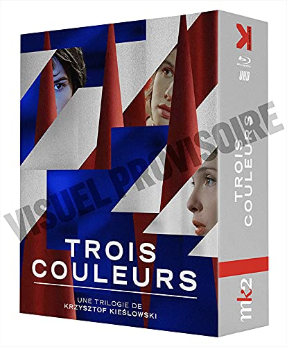 Trois Couleurs : Bleu, Blanc, Rouge [4K Ultra HD + Blu-Ray]