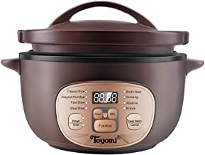 Toyomi SC 3036 Micro-Com Slow Cooker, 3.0L Purple