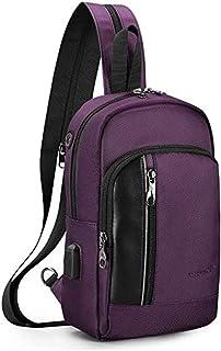 Bolso de la honda al aire libre del pecho del bolso del mensajero bolso del hombro mochila conveniente para los hombres y ...