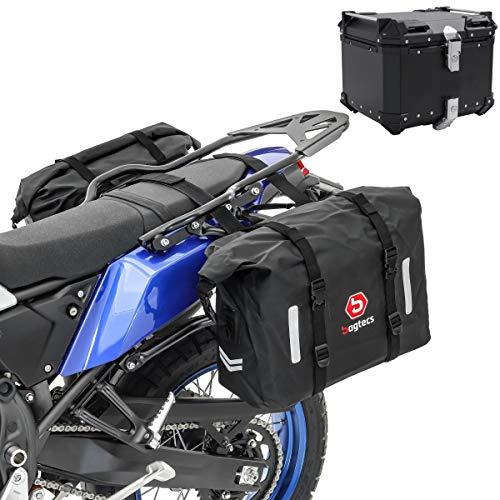 Set Satteltaschen WP8 für Honda Transalp XL 700 V + Topcase XB45 45L
