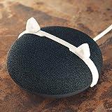 Ternal Catclip, an Adorable Way to Make Your Desk/Office a but More Fun. Neko/Cat Ears Accessories for Your Google Home Mini Gen.1 & Gen. 2 Nest Mini smartspeaker