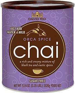 David Rio Orca Spice Chai té, 1520g de lata