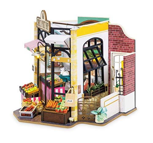 Rolife Puppenhaus Miniatur-Bausatz für Erwachsene und Jugendliche zum Zusammenbauen (Carl's Fruit Shop)