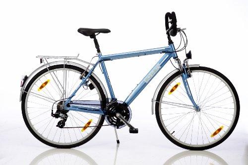 Schmidt Sportsworld Herren Trekking Bike TRB-H28, Aquamarinblau, 51 cm
