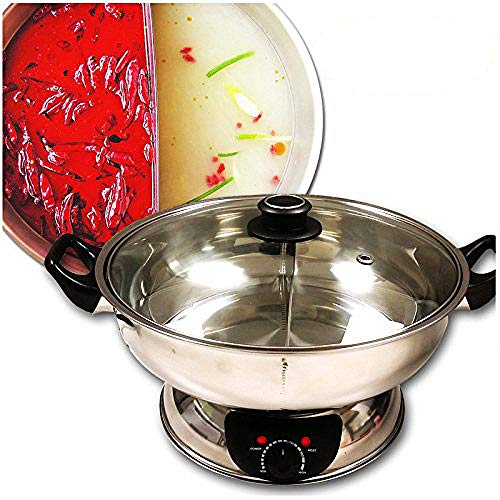 Sonya Shabu Shabu Hot Pot Electric Mongolian Hot Pot W/DIVIDER