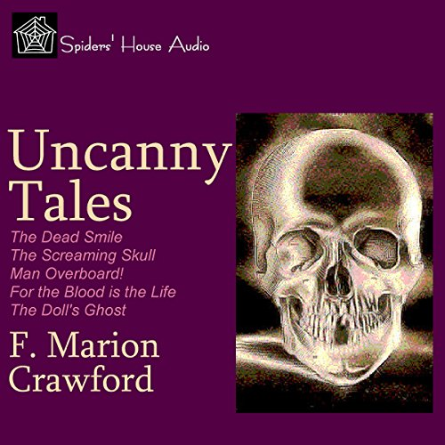 Uncanny Tales audiobook cover art