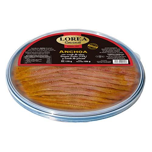 LOREA Gourmet anchoa del Cantábrico envase 170 gr