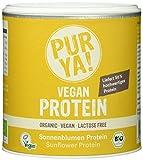 Purya Bio Vegan Protein - Sonnenblumen, 1er Pack (1 x 250 g)