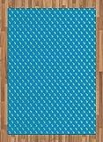 ABAKUHAUS Cacería de venados Alfombra de Área, Extracto de la Naturaleza Elk, Tejido Durable Decoración para Cualquier Ambiente, 160 x 230 cm, Cielo Azul Off White