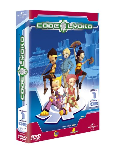 Code Lyoko - Saison 1 - Volume 02 [Francia] [DVD]