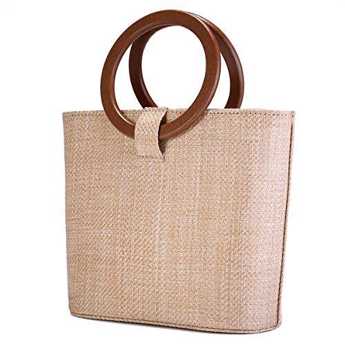JOSEKO Bolso de playa de verano, bolso de hombro para mujer,