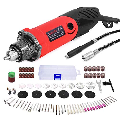 Lowest Prices! GOXAWEE Rotary Tool Kit 240W Power Die Grinder Set with 1/4 Inch 3-Jaw Chuck (0.5-6 m...
