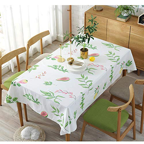 marca blanca Table Cloth Linen & Cotton Tablecloths Rectangular with Tassel for Dining Table Cover 140x200cm