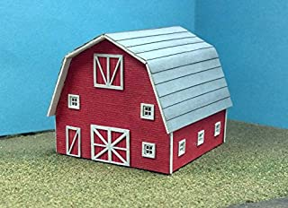 Train Time Laser HO SCALE Laser Cut Barn Kit