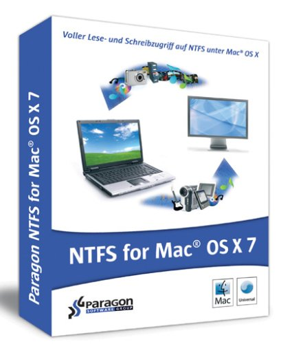 Paragon NTFS für Mac® OS X 7.0