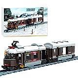 YOUX Tren de ingeniería para tren clásico suizo, Winner 5090, 923, bloques de construcción de juguete compatible con Lego Technic