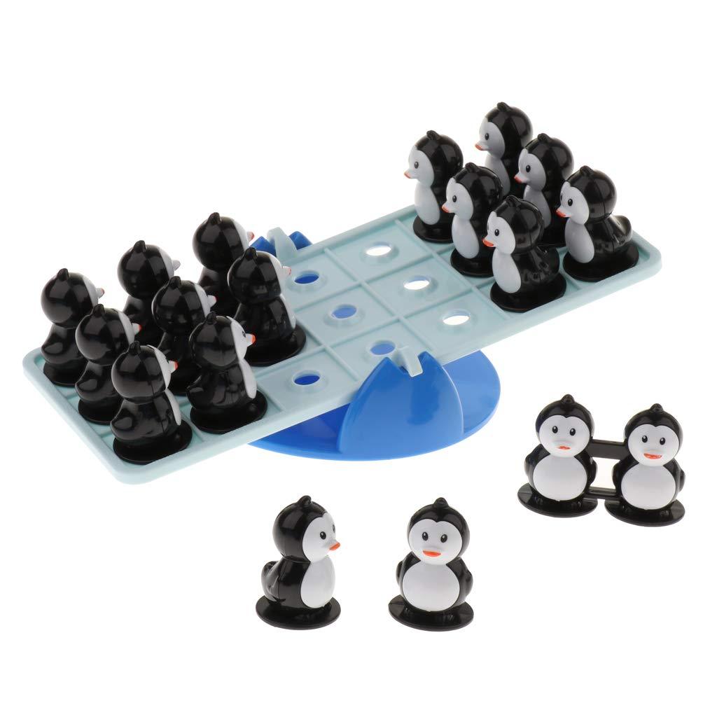 Sharplace Juego de Mesa Balancín de Pingüino Juguete para Desarrollo de Inteligencia de Niños: Amazon.es: Juguetes y juegos