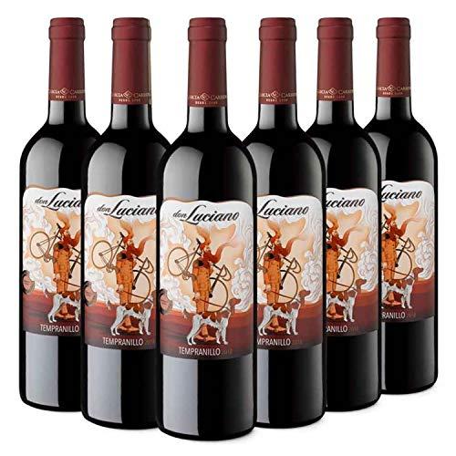 Don Luciano Tempranillo - Vino Tinto D.O. La Mancha - Caja de 6 Botellas x 750 ml