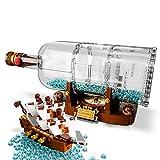 Immagine 2 lego ideas nave in bottiglia
