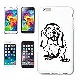 Reifen-Markt Hard Cover - Funda para teléfono móvil Compatible con Samsung Galaxy S3 Mini Raza Cachorro Diversión Deportes del Perro