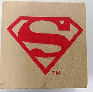DC Comics Superman Logo Wood Stamp