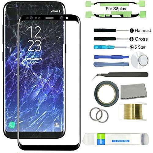 Reemplazo de Pantalla para Galaxy S8/S8 Plus, con Kit de reparación de Pantalla para reemplazar tu teléfono dañado, Agrietado y destrozado for Samsung Galaxy S8 Plus
