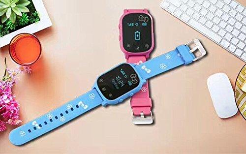 VIDIMENSIO GPS Telefon Uhr ohne Abhörfunktion, für Kinder, GPS Ortung per App SOS mitTelefonfunktion Abbildung 2
