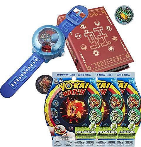 Yo-kai Watch Montre à Double Projection Modèle U + Medallium + 6 Médailles