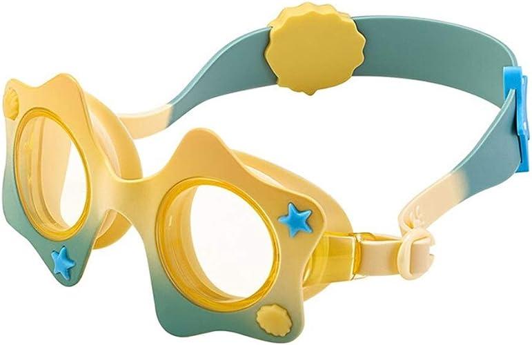 Lunettes de natation HD Comfort Anti-buée imperméable Anti-UV Fille mode personnalité Lunettes de Prougeection